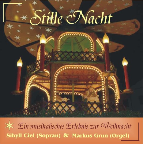 "CD-Cover ""Stille Nacht"""