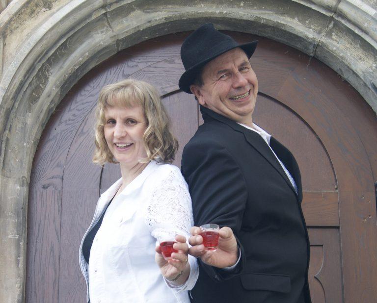Sibyll Ciel und Rainer Wein - Nochn Likörchen -Bühnenshows und Auftritte